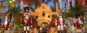 riverside mission inn, festival of lights,